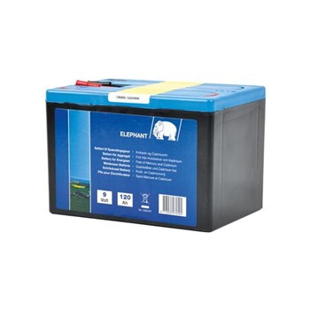 Elhegns batteri 9v 120ah 9880072547 8713235072545 Elephant