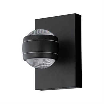 Sesimba LED væglampe 2l sort 9002759948481 94848 Eglo